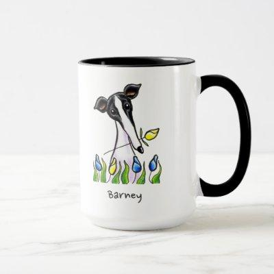 Greyhound Sweetheart Personalized Mug