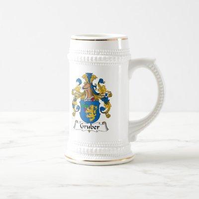 Gruber Family Crest Beer Stein