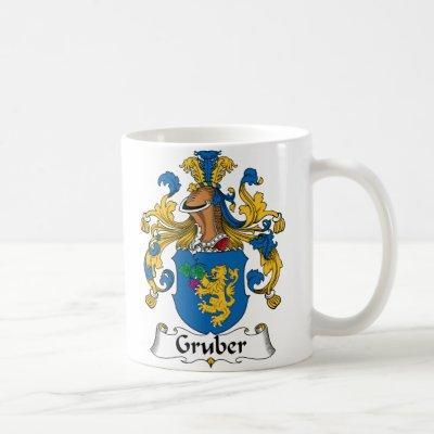 Gruber Family Crest Coffee Mug