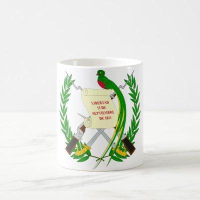 guatemala emblem coffee mug