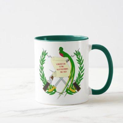guatemala emblem mug