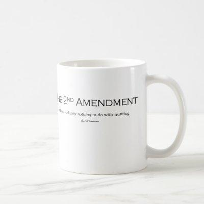 Gun lover Gun owner gifts 2nd Amendment Republican Coffee Mug
