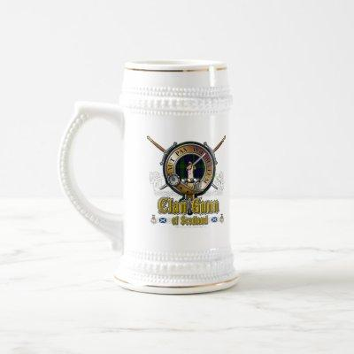 Gunn Clan Badge Beer Stein