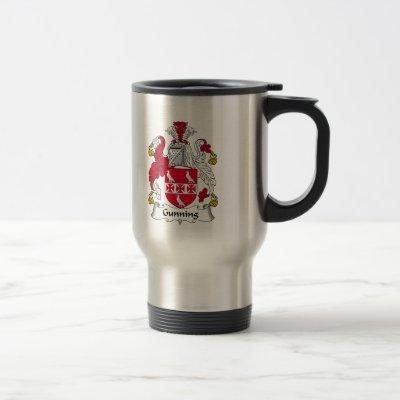 Gunning Family Crest Travel Mug