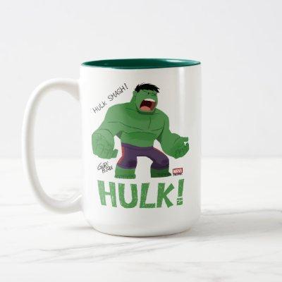 Guri Hiru Hulk Two-Tone Coffee Mug
