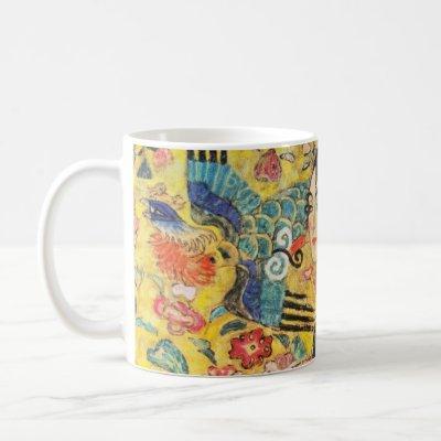 Gustav Klimt Lady With Fan Coffee Mug