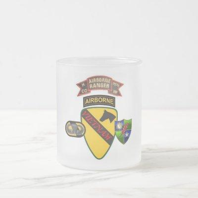 H COMPANY RANGER 75TH Infantry 1ST CAV VIETNAM Mug