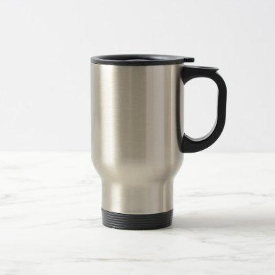 Hair stylist travel mug