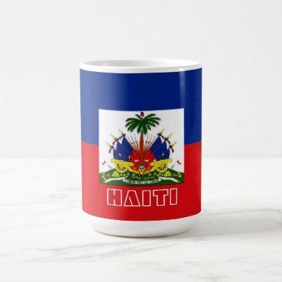 Haiti flag mug
