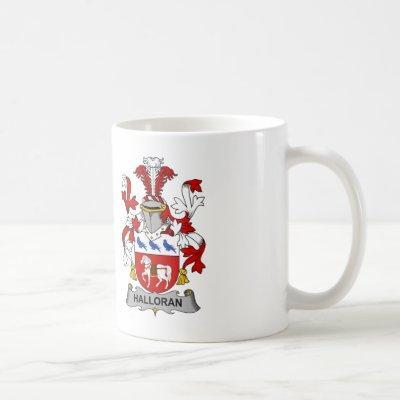 Halloran Family Crest Coffee Mug