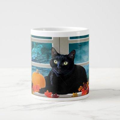 Halloween Kitty's Boo-tiful Night Jumbo Mug