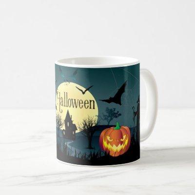 Halloween Night Mug Treat or Trick