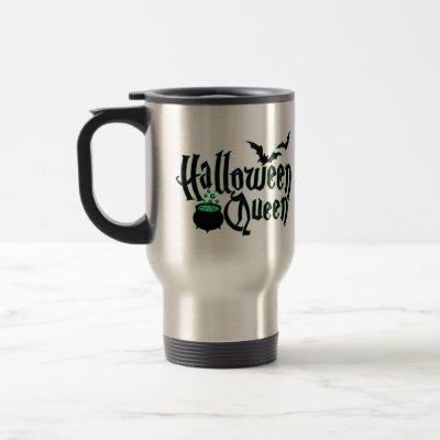 Halloween Queen Travel Mug