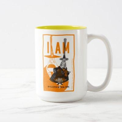 Halloween Town Mayor - Only An Elected Official Two-Tone Coffee Mug