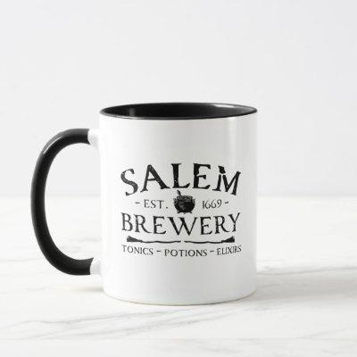 Halloween Witches Salem Brewery Mug