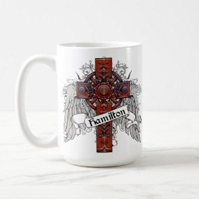 Hamilton Tartan Cross Coffee Mug
