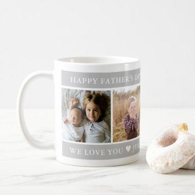 Happy Father's Day Custom Coffee Mug