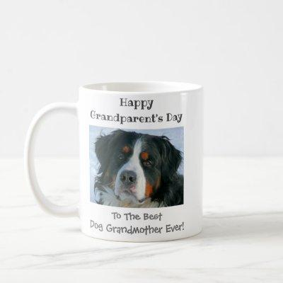 Happy Grandparent's Day Best Dog Grandmother Photo Coffee Mug