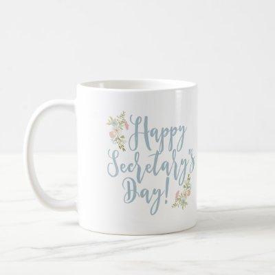 Happy Secretary's Day Coffee Mug Gift