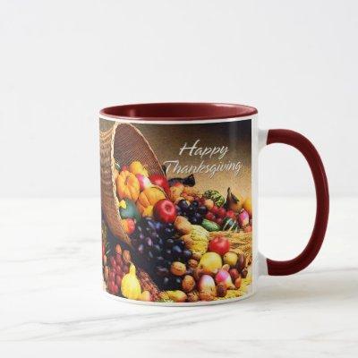 Happy Thanksgiving 12 Mug