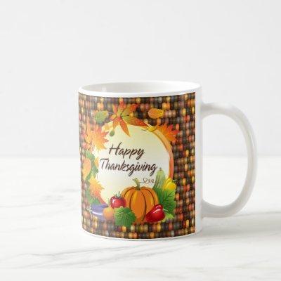 Happy Thanksgiving 5A-13A Options Coffee Mug