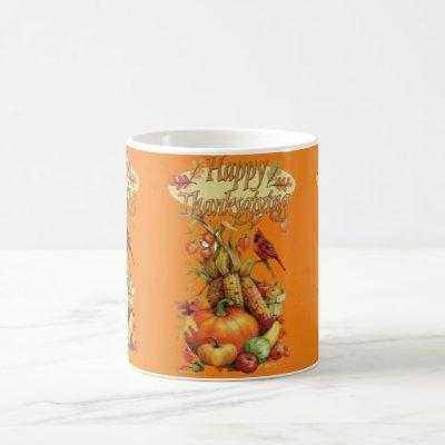 Happy Thanksgiving Day Mugs