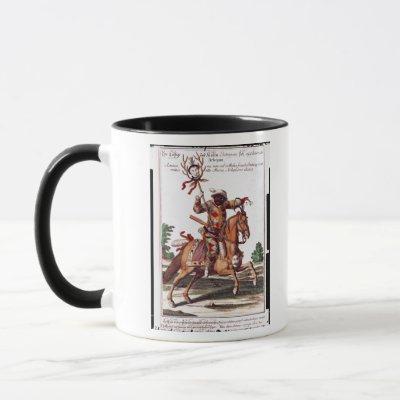 Harlequin on Horseback Mug