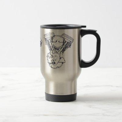 Harley Evolution V-Twin Travel Mug