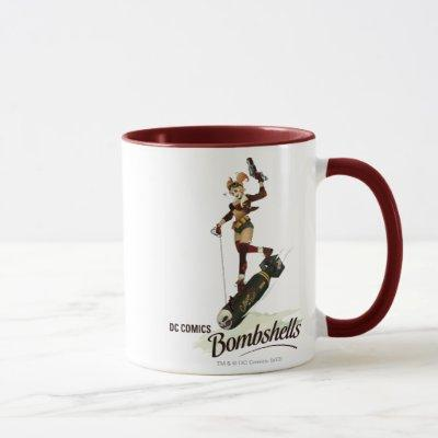 Harley Quinn Bombshells Pinup Mug