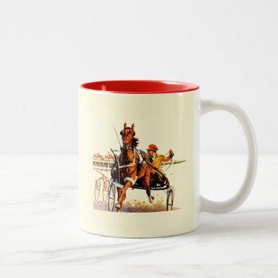 Harness Race Two-Tone Coffee Mug
