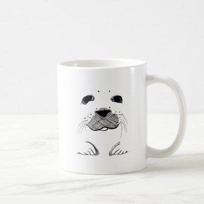 Harp Seal Pup Coffee Mug