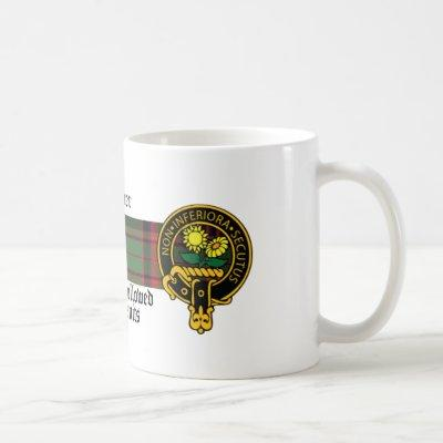 Harper Scottish Crest and Tartan mug