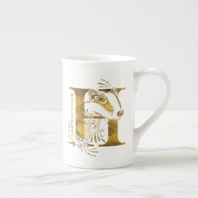 Harry Potter | Aguamenti HUFFLEPUFF™ Graphic Bone China Mug