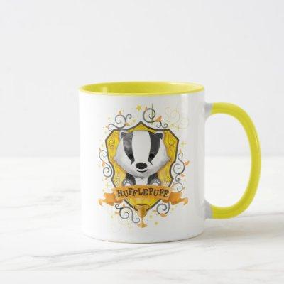 Harry Potter | Charming HUFFLEPUFF™ Crest Mug