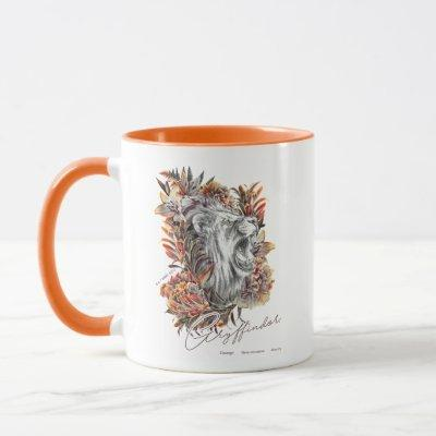 HARRY POTTER™ GRYFFINDOR™  Floral Graphic Mug