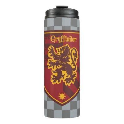 Harry Potter   Gryffindor House Pride Crest Thermal Tumbler