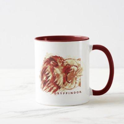 Harry Potter | GRYFFINDOR™ Lion Watercolor Mug