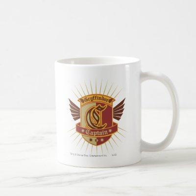 Harry Potter | Gryffindor QUIDDITCH� Captain Emble Coffee Mug