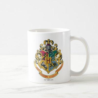Harry Potter| Hogwarts Crest - Full Color Coffee Mug