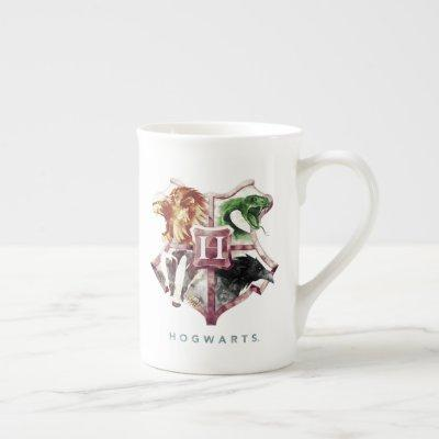 Harry Potter | HOGWARTS™ Crest Watercolor Bone China Mug