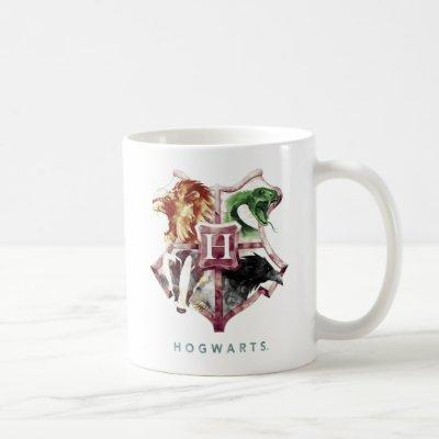 Harry Potter | HOGWARTS™ Crest Watercolor Coffee Mug