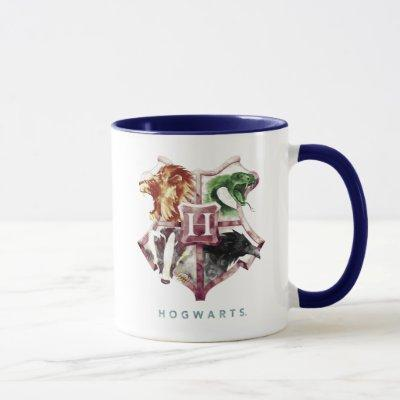 Harry Potter | HOGWARTS™ Crest Watercolor Mug