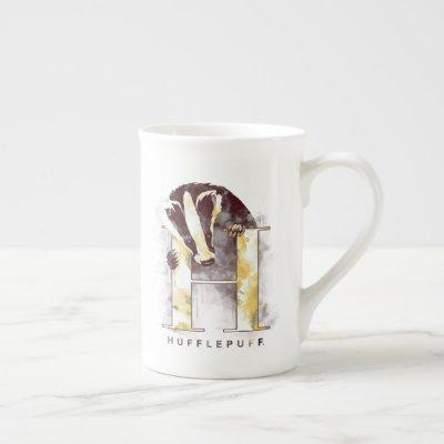 Harry Potter | HUFFLEPUFF™ Badger Watercolor Bone China Mug