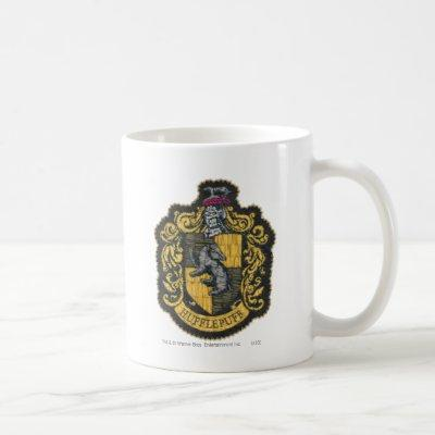 Harry Potter | Hufflepuff Crest Patch Coffee Mug