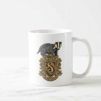Harry Potter | Hufflepuff Crest with Badger Coffee Mug