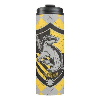 Harry Potter | Hufflepuff House Pride Crest Thermal Tumbler
