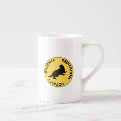 Harry Potter | HUFFLEPUFF™ House Traits Graphic Bone China Mug
