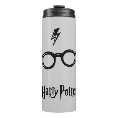 Harry Potter | Lightning Scar and Glasses Thermal Tumbler
