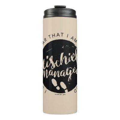 Harry Potter | Marauder's Map Charms Typography Thermal Tumbler