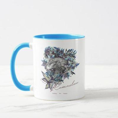 HARRY POTTER™ RAVENCLAW™ Floral Graphic Mug